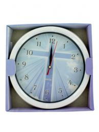 Bulk Buys OB770 Religious Wall Clock (Pack of 6)
