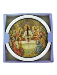 Bulk Buys OB771 Quartz Religious Wall Clock (Pack of 6)