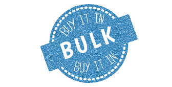 Buy stuff in bulk and save!